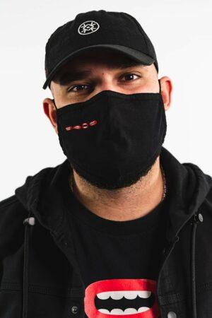 BERYWAM Black Mask with Mouths 1 - Model: WaWad